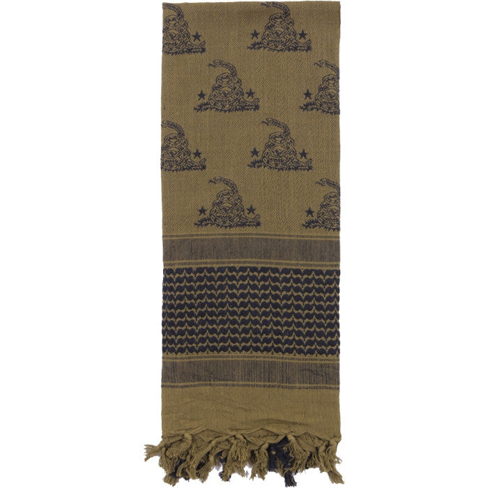Olive Drab - Snake Shemagh Tactical Desert Scarf