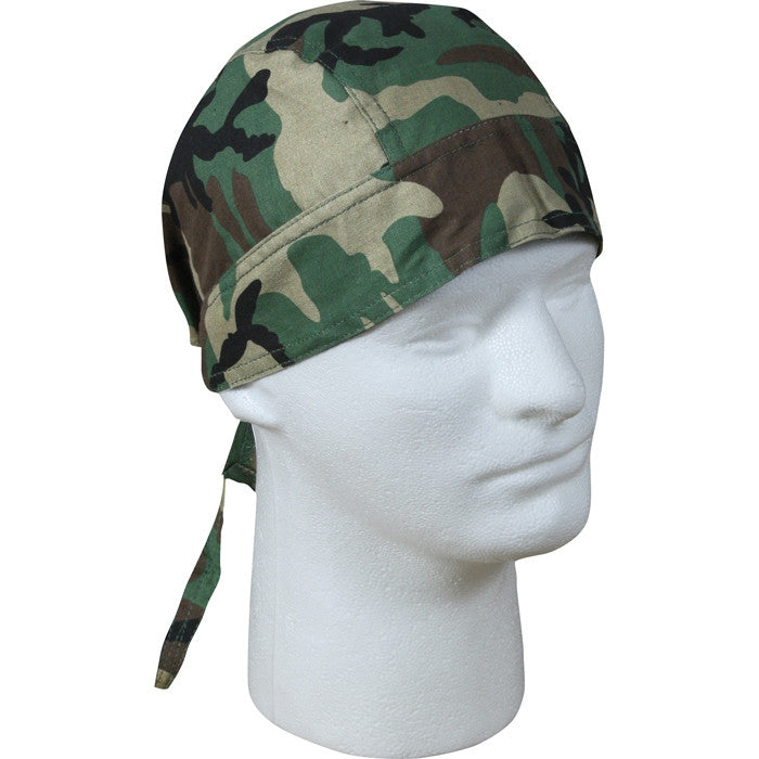Woodland Camouflage - Military Headwrap