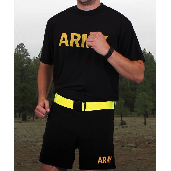 Yellow - Reflective Physical Training Belt