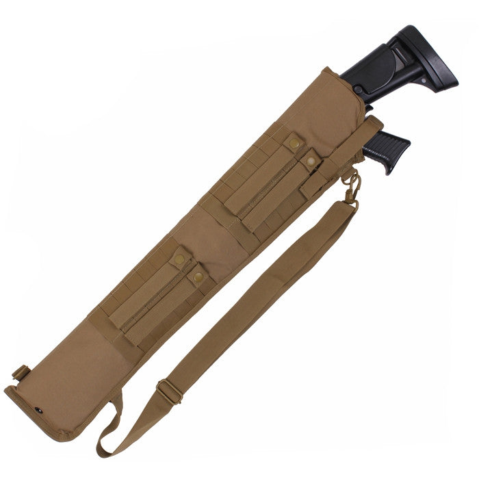 Coyote Brown Tactical Shotgun Scabbard