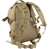 Coyote Brown - Military MOLLE Compatible Large Transport Pack