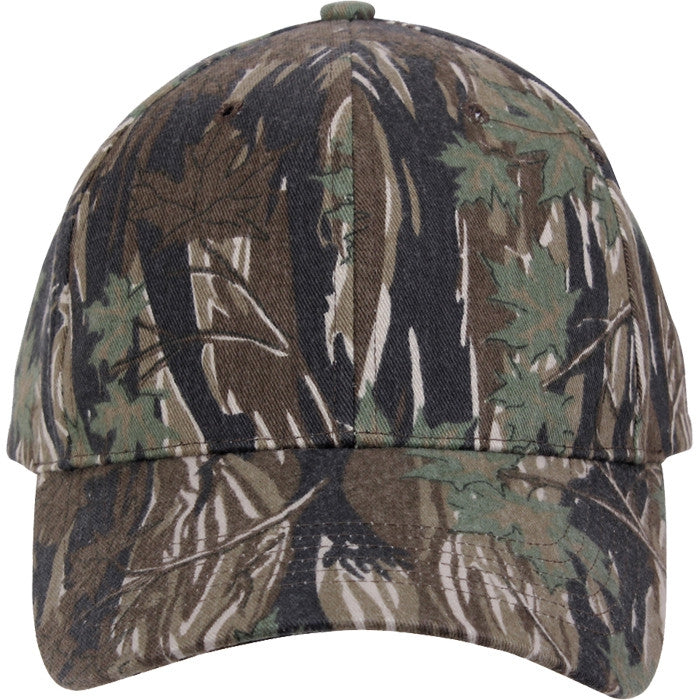 Smokey Branch Camouflage - Military Low Profile Adjustable Baseball Cap