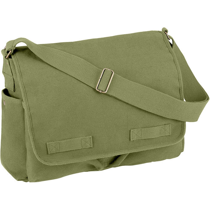 Olive Drab - Heavyweight Classic Messenger Bag