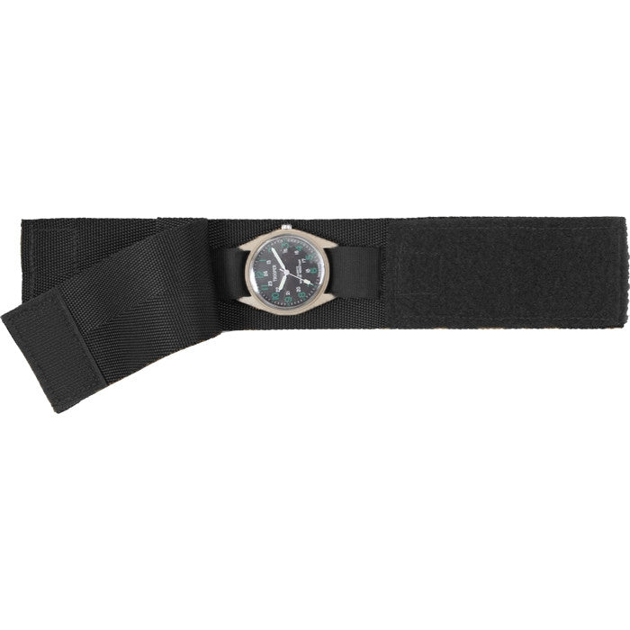Black - Military GI Style Commando Watch Band