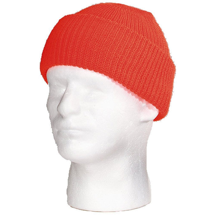 Blaze Orange - High-Visibility Genuine GI Outdoor Watch Cap - Acrylic