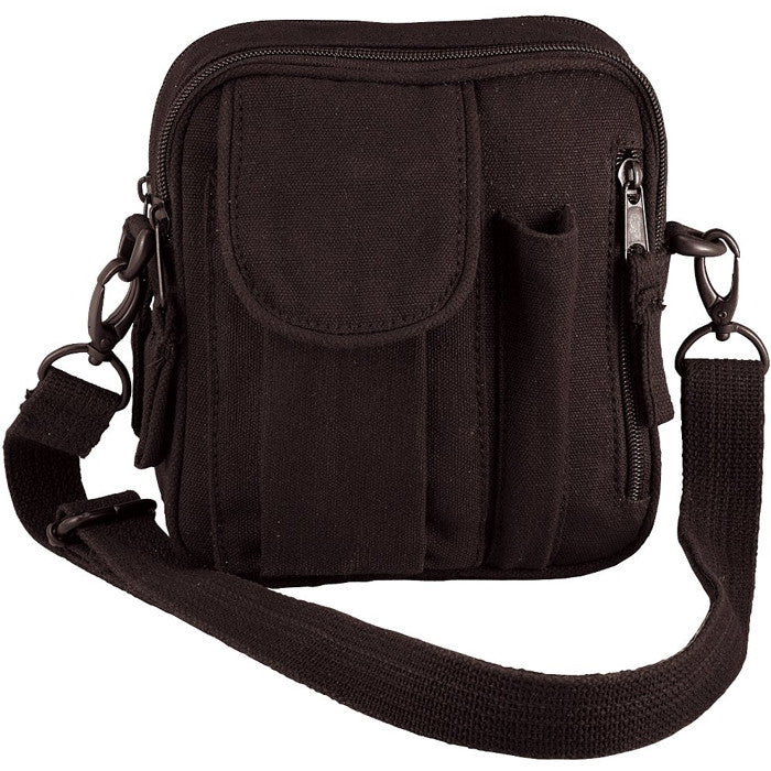 Black - Military Excursion Organizer Shoulder Bag