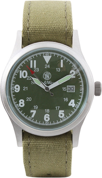 Smith & Wesson Olive Drab - Military Watch Set