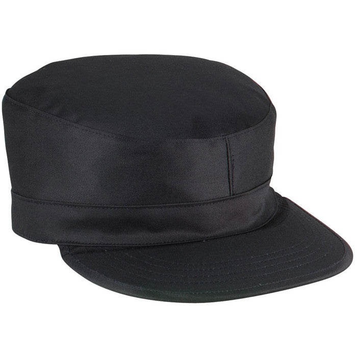 Black - Military Map Pocket Ranger Cap