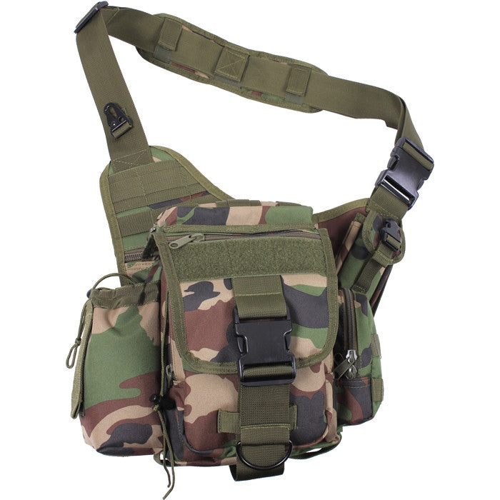 Woodland Camoflauge - Advanced Tactical Bag