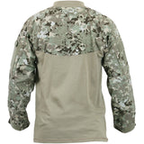 Total Terrain Camouflage - Military Tactical Lightweight Flame Resistant Combat Shirt