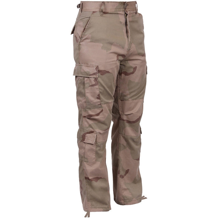Tri-Color Desert Camouflage - Military Vintage Paratrooper Fatigues