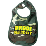 Woodland Camouflage - Military DROOL SERGEANT Infant Bib