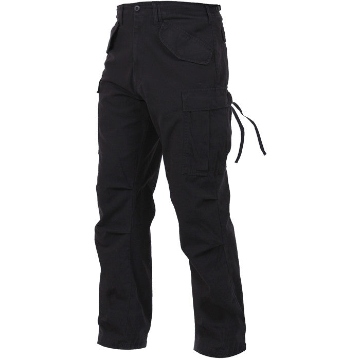 Black - Military Vintage M-65 Field Pants
