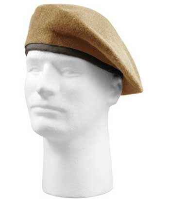 Tan - Inspection Ready Military Beret
