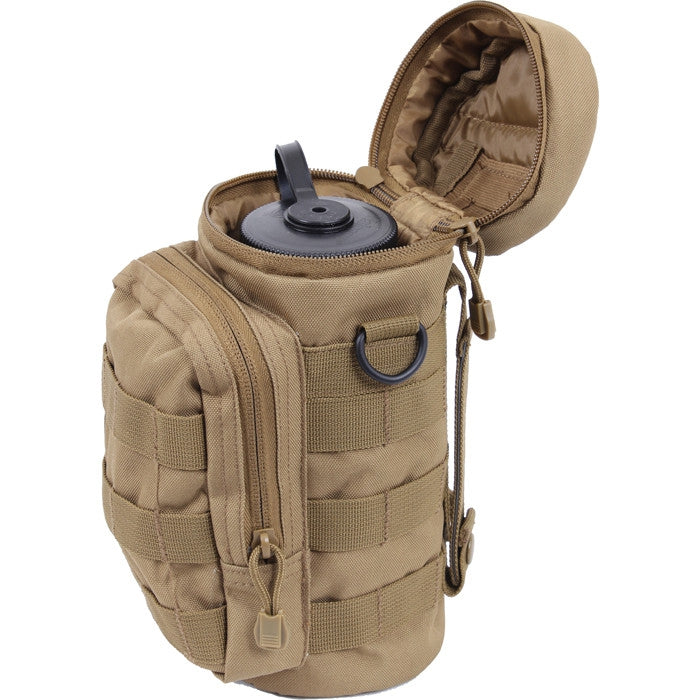Coyote Brown - MOLLE Compatible Water Bottle Pouch