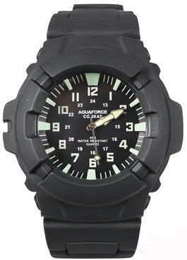 Black - Aquaforce Military Combat Watch