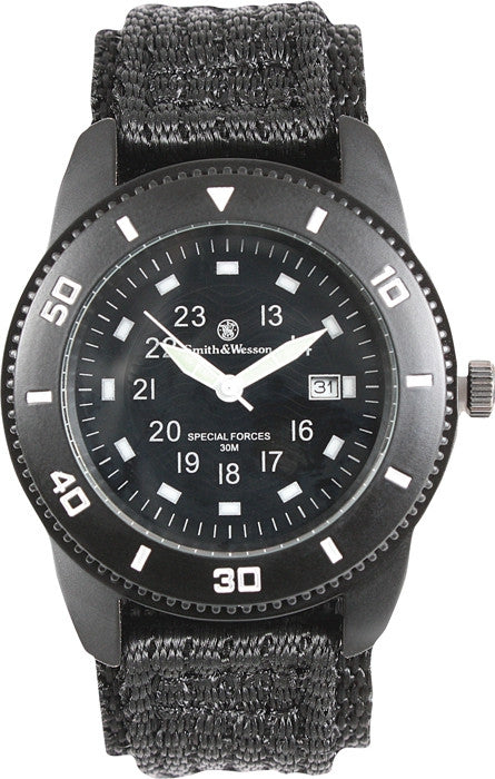 Smith & Wesson Black - Commando Watch
