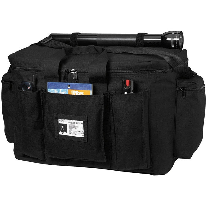 Black - Law Enforcement Water Resistant Deluxe Equipment Bag 19 in. x 12 in. x 12.5 in.