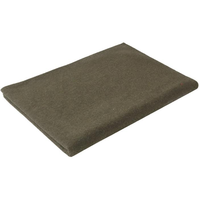 Olive Drab - Warm Wool Blanket 66 in. x 90 in.