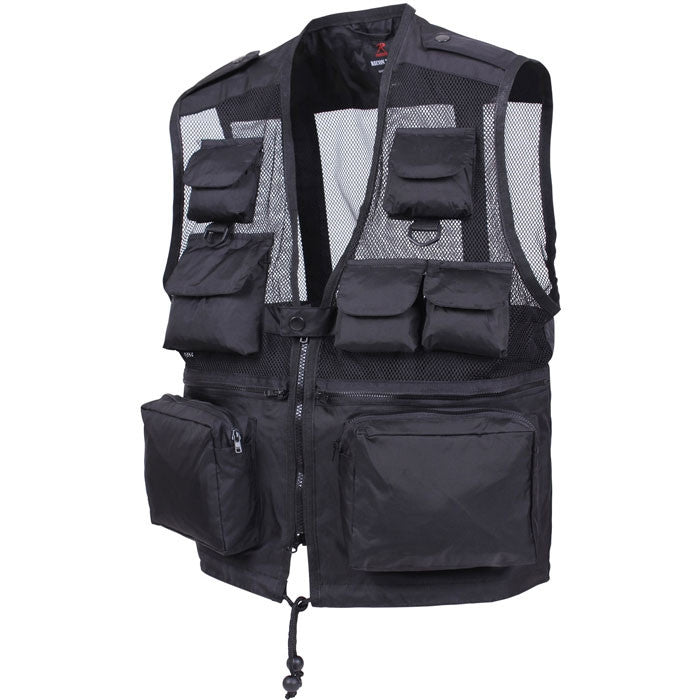Black - US Military RECON Tactical Vest