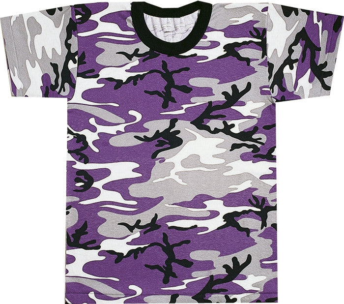 Ultra Violet Camouflage - Military T-Shirt