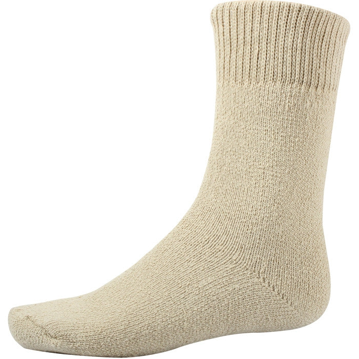 Khaki - Heavy Weight GI Type Thermal Boot Socks - USA Made