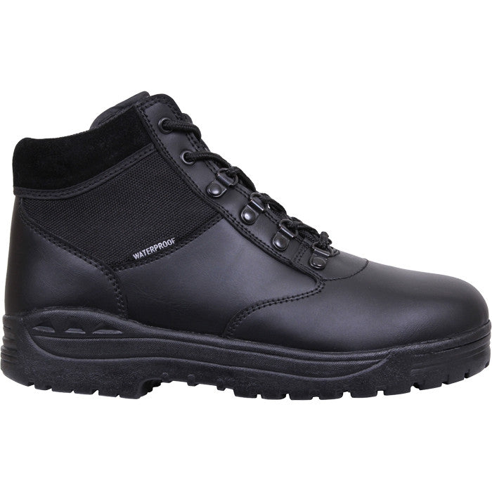 Black - Waterproof Forced Entry Tactical Boots