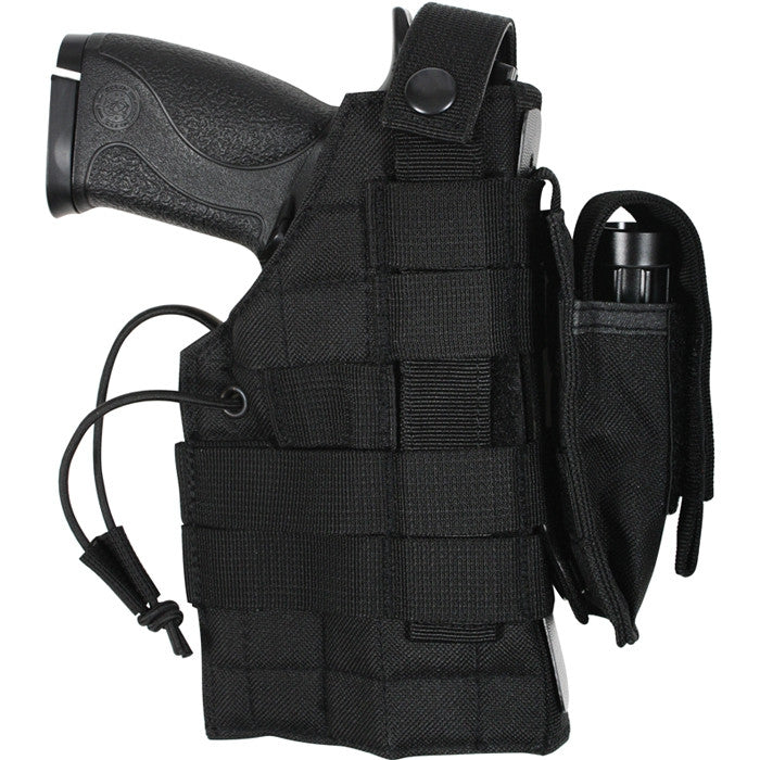 Black - Tactical Military MOLLE Pistol Holster