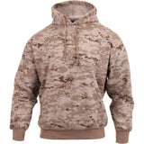 Digital Desert Camouflage - Pullover Hooded Sweatshirt