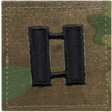 Multicam Camouflage - Military Captain Insignia Patch CPT