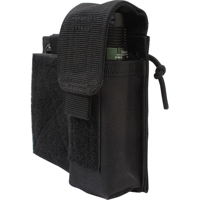 Black - Tactical MOLLE Utility Adminsitative Mag Pouch