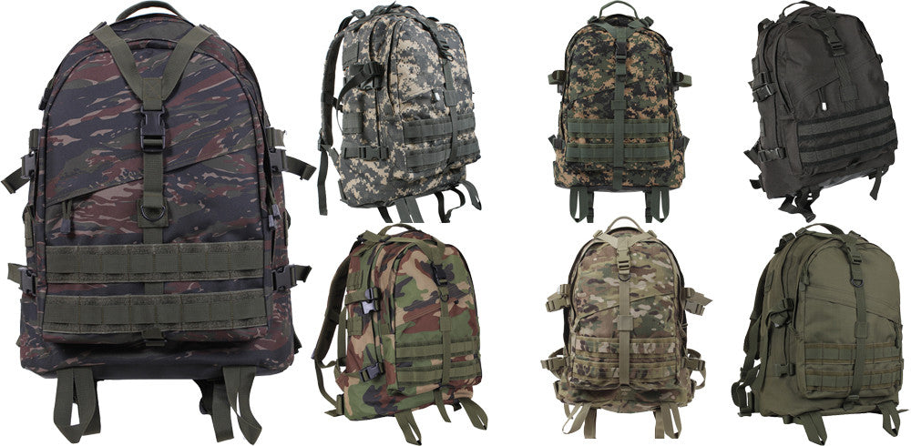 Tactical Large Transport Packs, Camo Military Backpacks