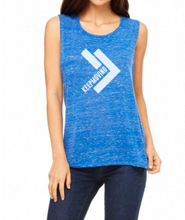 Women's Keep Moving Muscle Tee