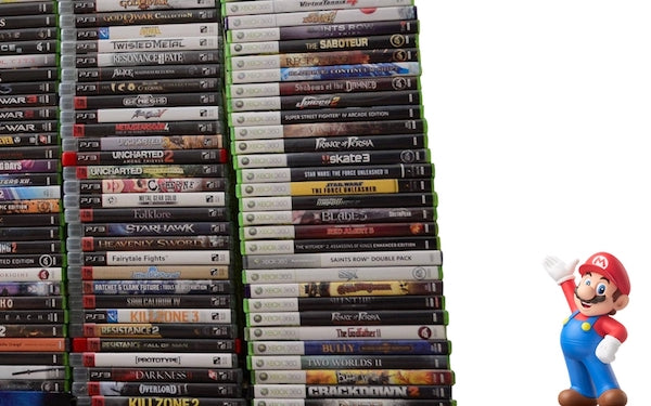The Pile of Shame game: Why we obsess over our personal video game backlogs