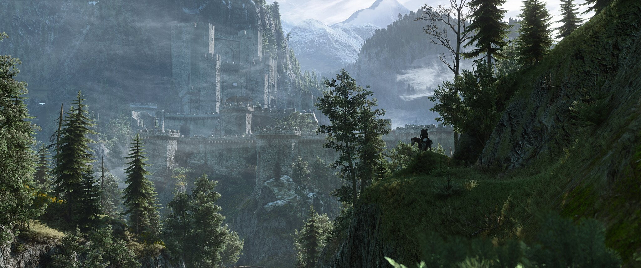 """""""A Fortress for Witchers"""" – The Witcher 3: Wild Hunt shot by Jim2point0"""