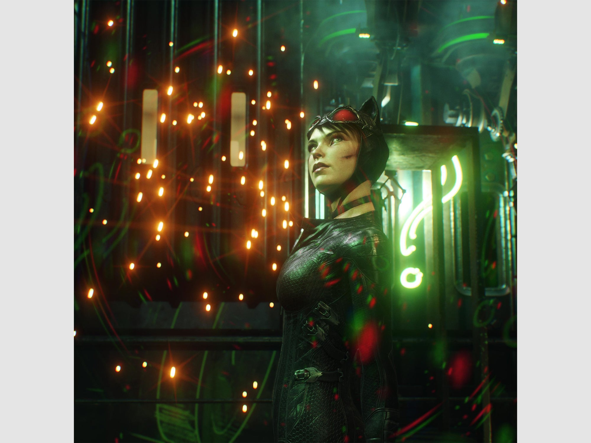 """""""Sparks Will Fly"""" – Batman: Arkham Knight shot by Andy Cull"""