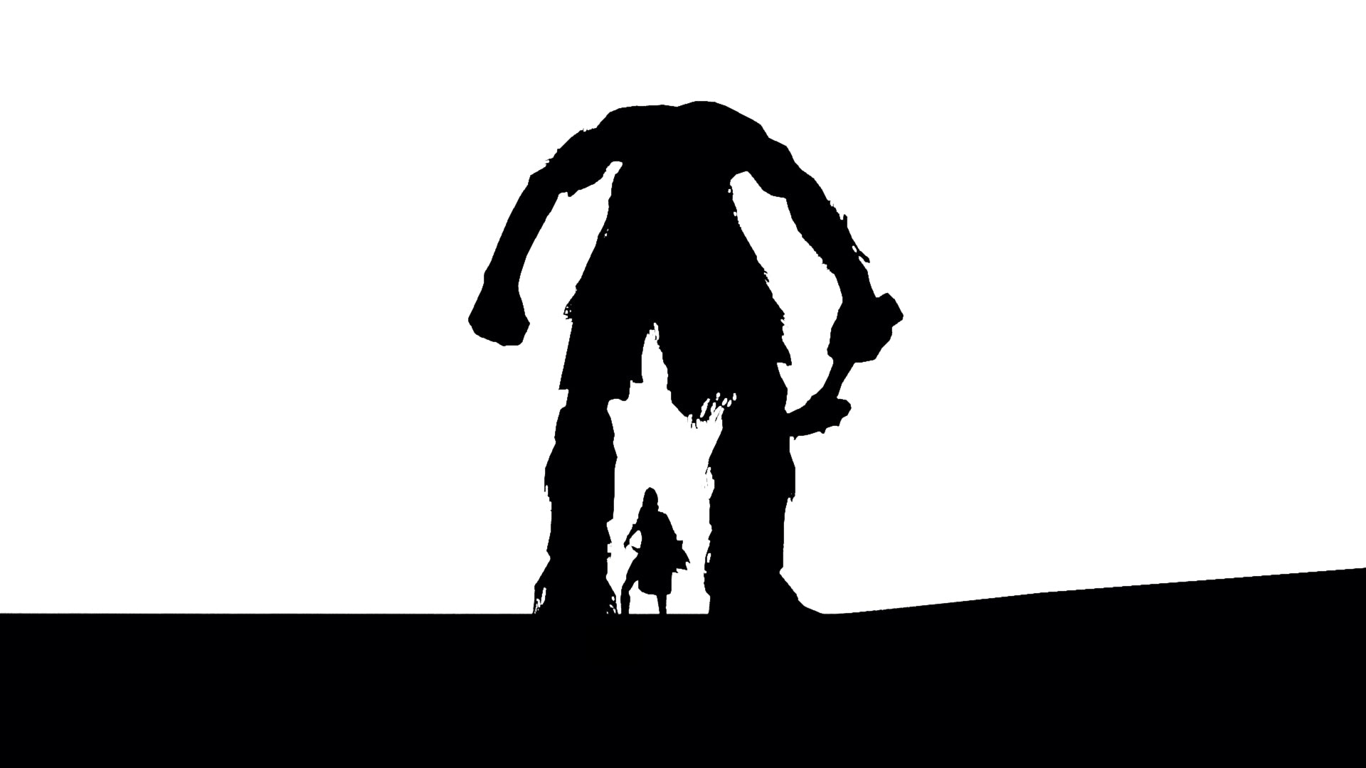 """""""Shadow of the Colossus (old shot)"""" – The Elder Scrolls V: Skyrim shot by Jim2point0"""