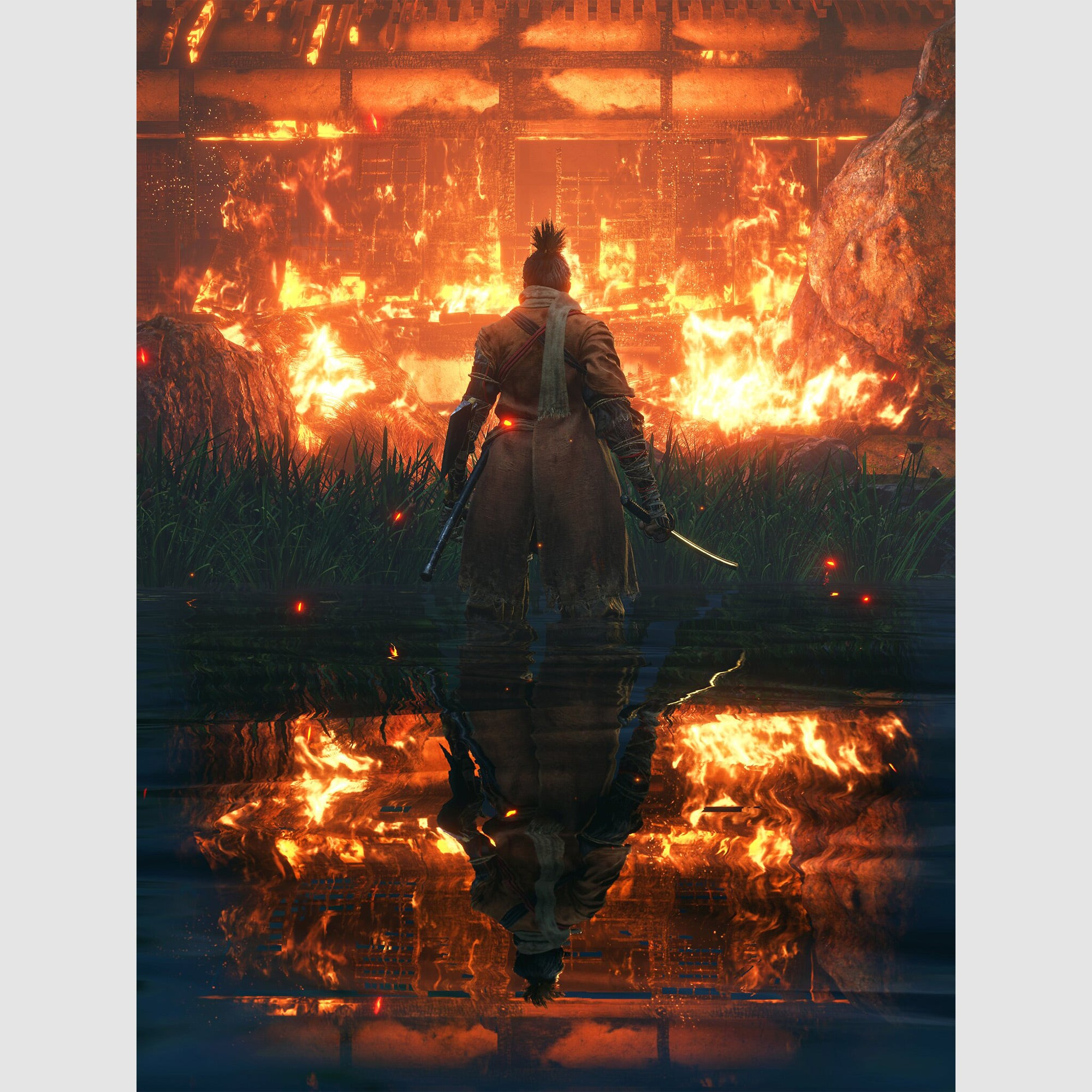 """""""Man On Fire"""" – Sekiro: Shadows Die Twice shot by Andy Cull"""