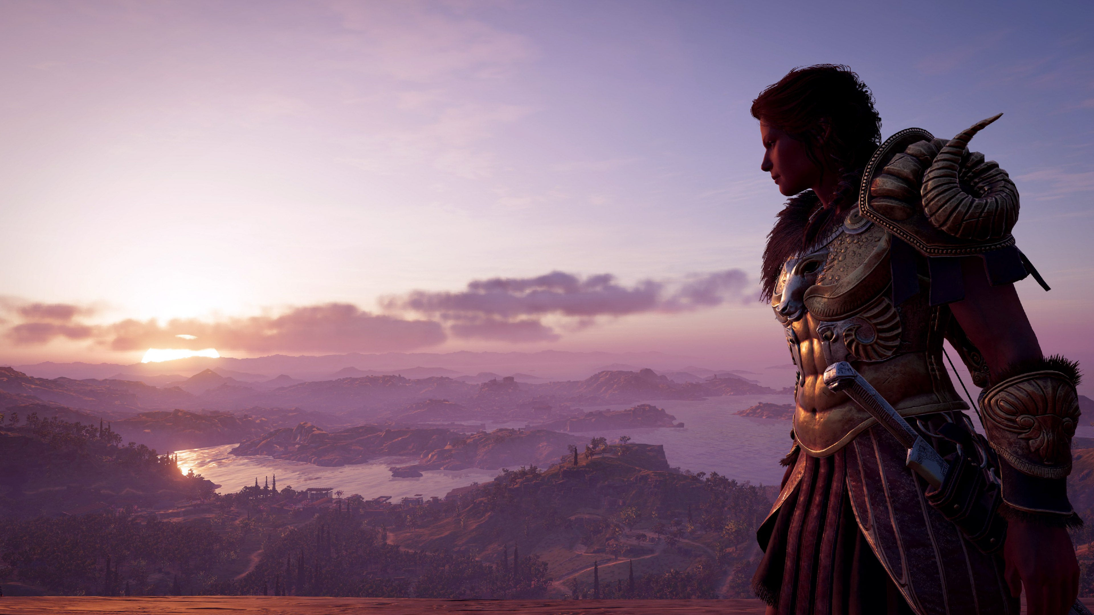 """""""Pining for more swords"""" – Assassin's Creed: Odyssey shot by Thomas Quillfeldt"""