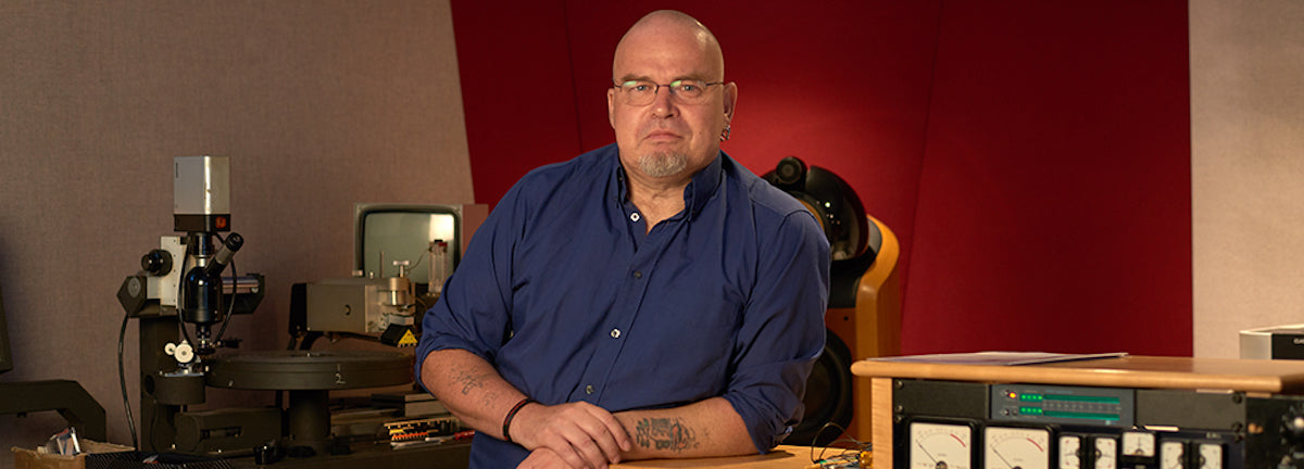 Sean Magee, mastering engineer at Abbey Road Studios
