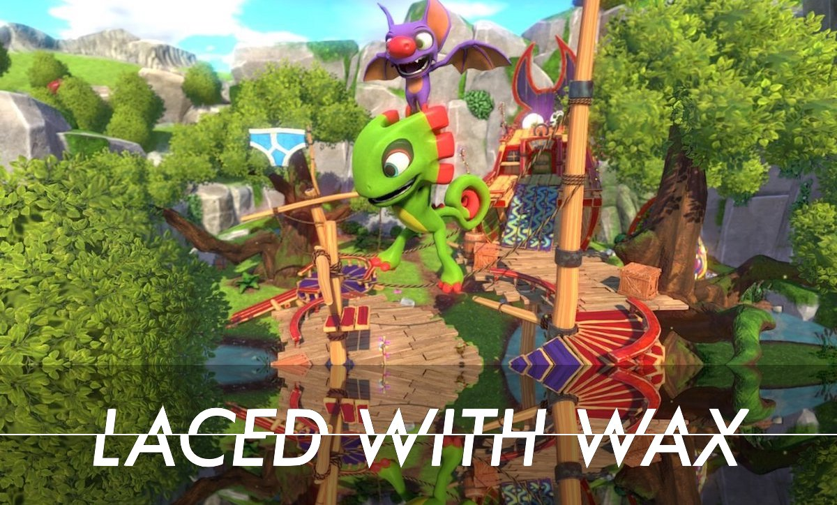Laced with wax The Yooka-Laylee composers pick their favourite tunes from the soundtrack