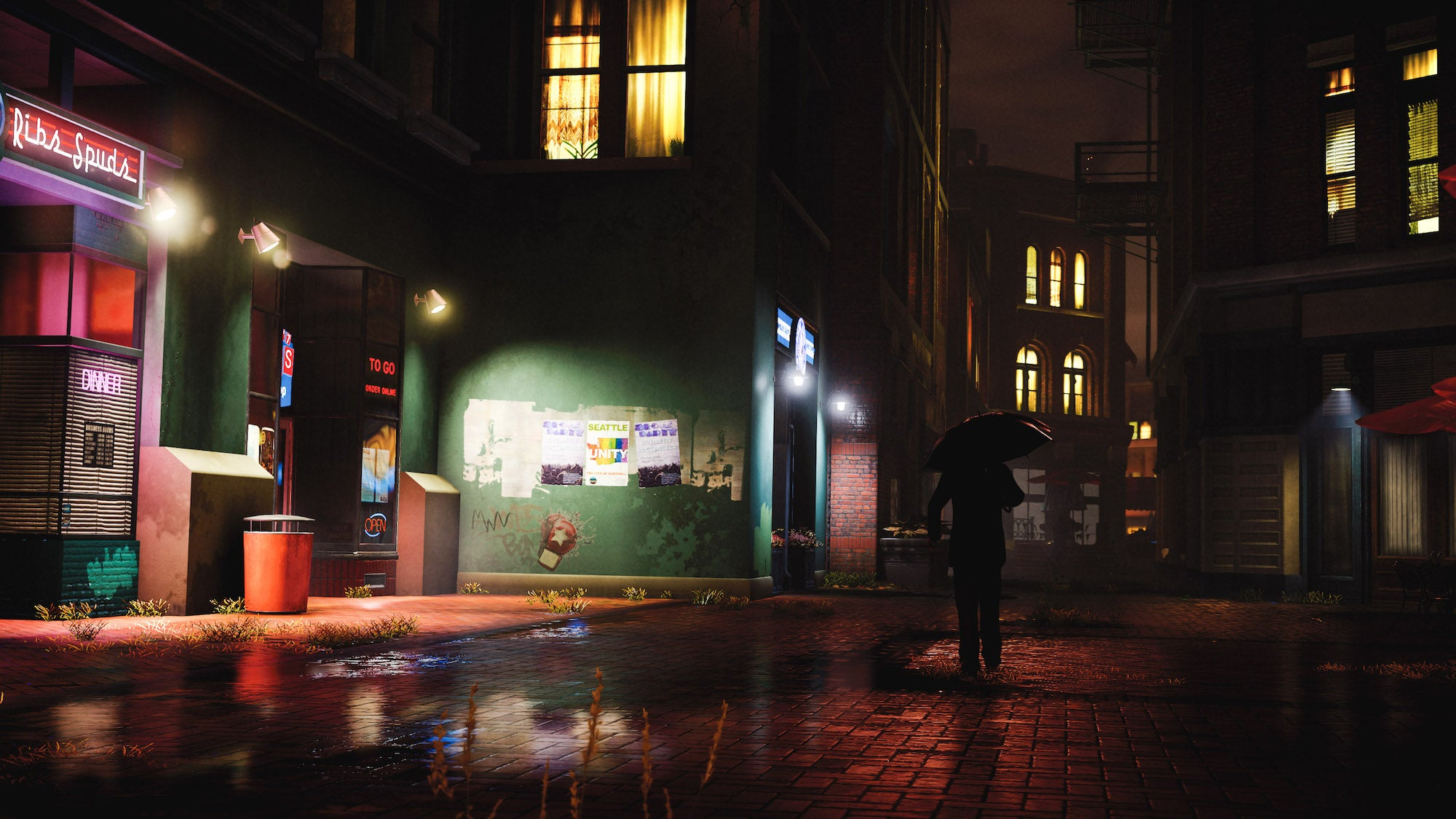 """""""Late Rain"""" – inFAMOUS First Light shot by TheFourthFocus"""