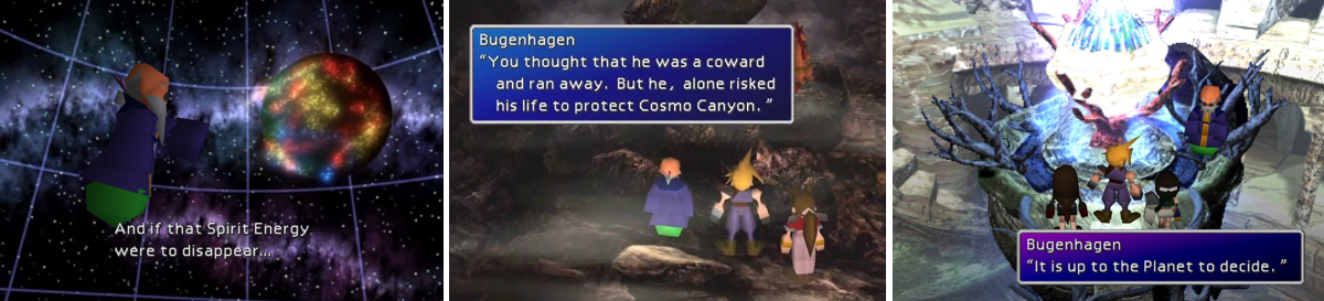 Bugenhagen from Final Fantasy 7