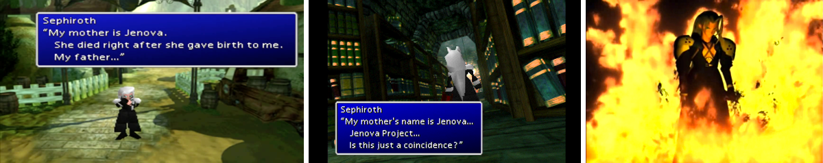 Sephiroth from Final Fantasy 7