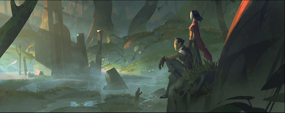 Key art from Absolver