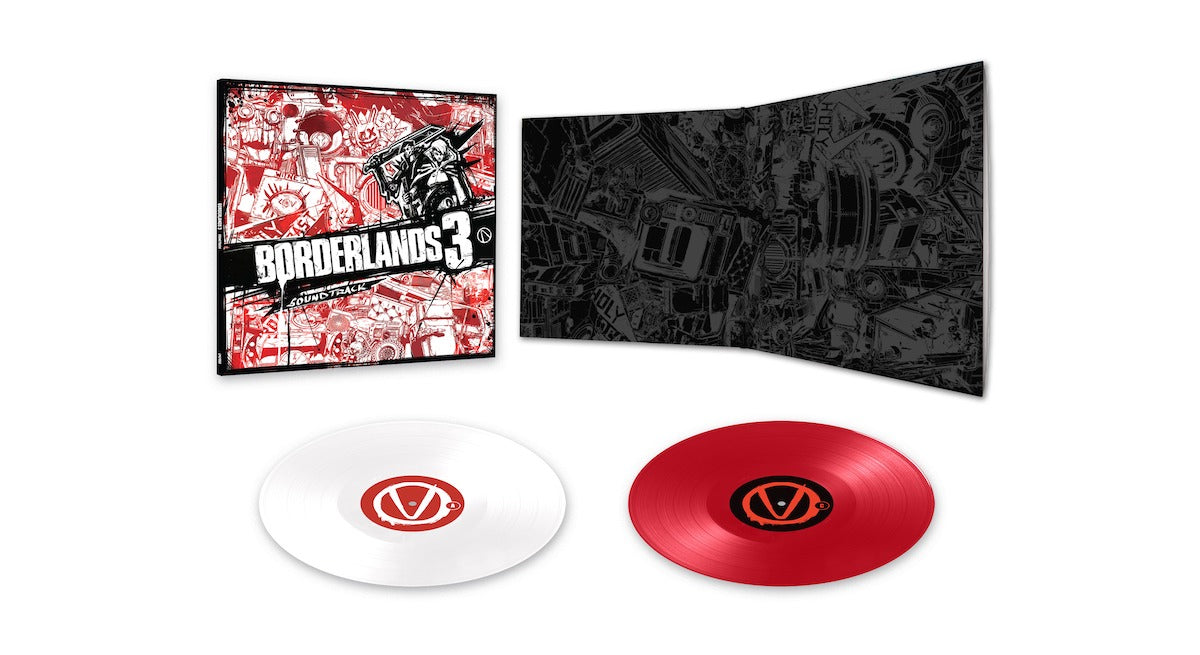 Borderlands 3 double vinyl from Laced Records