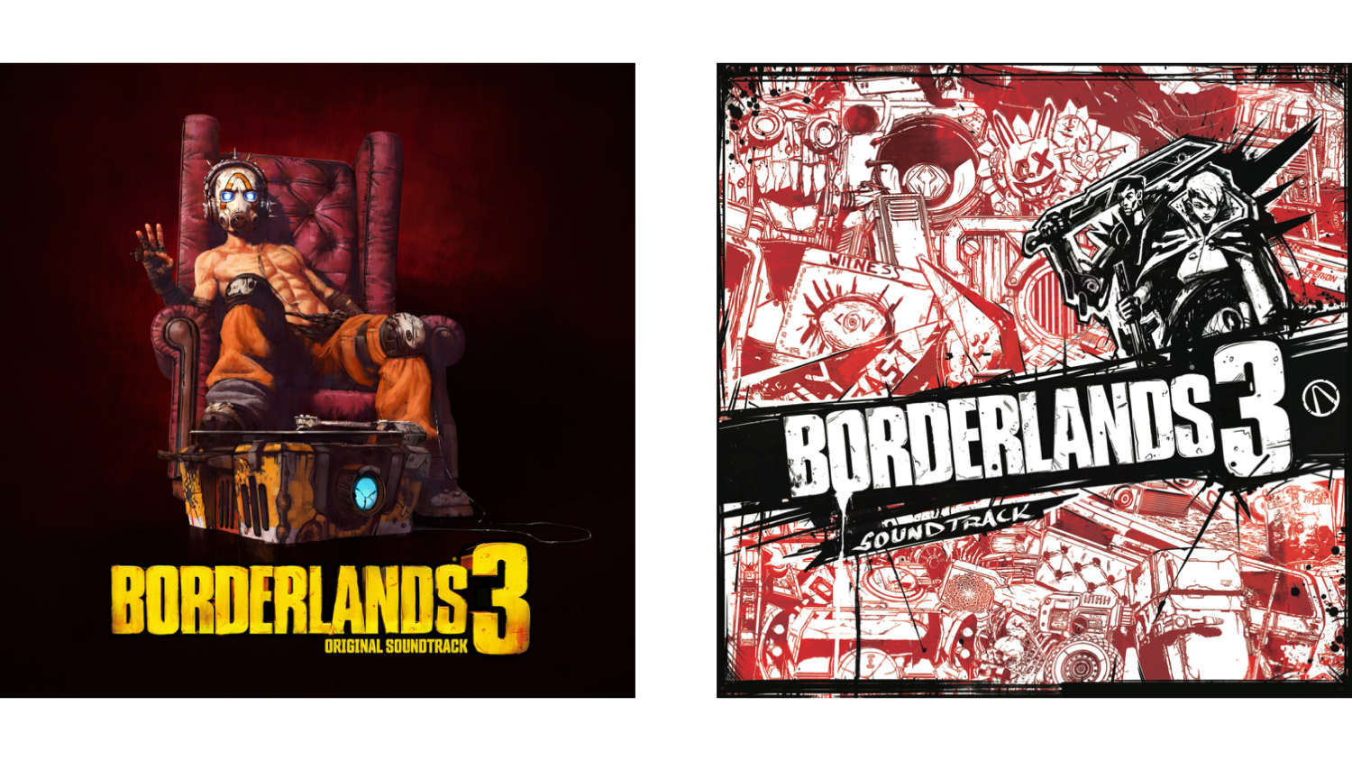Borderlands 3 vinyl by Laced Records