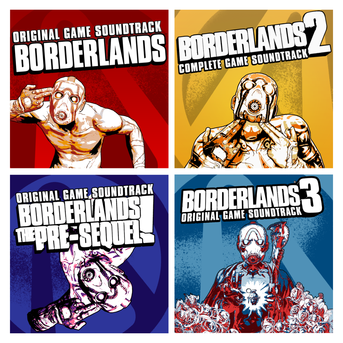 Borderlands soundtracks on digital platforms