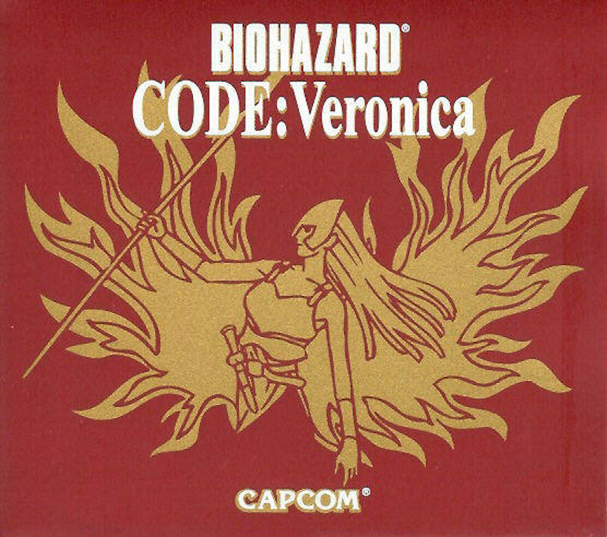 Japanese Resident Evil CODE: Veronica collector's edition cover