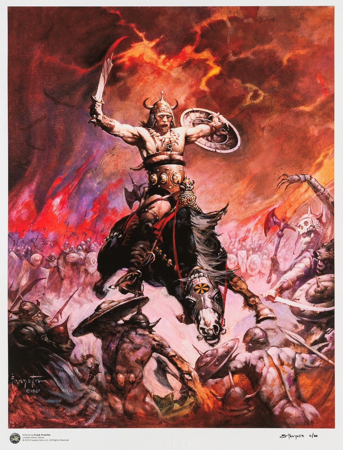 """Conan the Conqueror"" by Frank Frazetta"